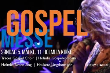 Traces Gospel at Holmlia Kirke