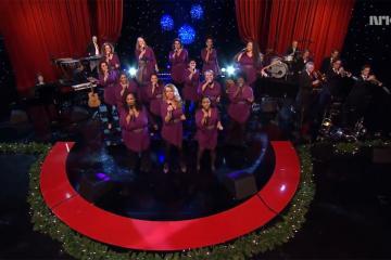 Traces Gospel Choir in NRK Christmas 2015